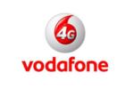 Vodafone- ;logo
